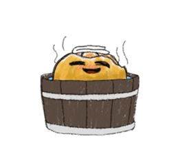 Zombie Orange Apocalypse sticker #4082231