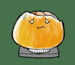 Zombie Orange Apocalypse sticker #4082233