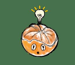 Zombie Orange Apocalypse sticker #4082234