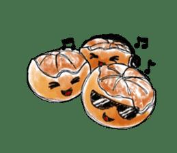 Zombie Orange Apocalypse sticker #4082235