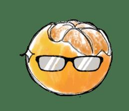 Zombie Orange Apocalypse sticker #4082249