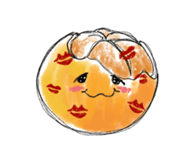 Zombie Orange Apocalypse sticker #4082252