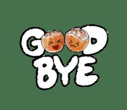 Zombie Orange Apocalypse sticker #4082255
