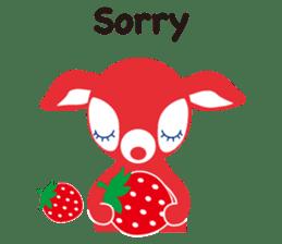 PuchiBabie&Strawberry Part 2 sticker #4101029