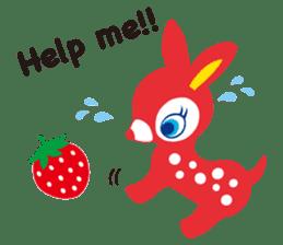 PuchiBabie&Strawberry Part 2 sticker #4101030