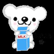 สติ๊กเกอร์ไลน์ Fluffy Teddy Bear's daily stickers