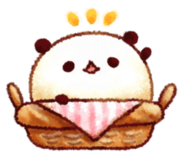 White Bread of Panda sticker #4107924
