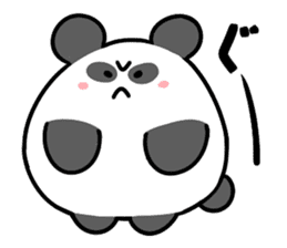 Angry Cute Bear sticker #4110635