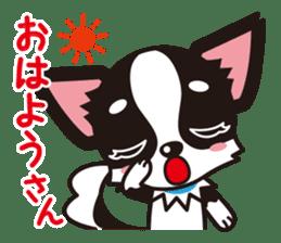 Cute Chihuahua Kansai Words Stickers sticker #4115448