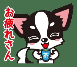 Cute Chihuahua Kansai Words Stickers sticker #4115452