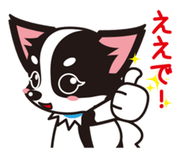 Cute Chihuahua Kansai Words Stickers sticker #4115459