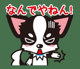 Cute Chihuahua Kansai Words Stickers sticker #4115461