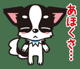 Cute Chihuahua Kansai Words Stickers sticker #4115463