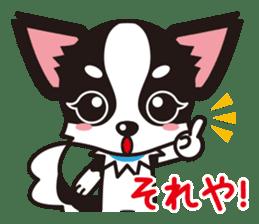 Cute Chihuahua Kansai Words Stickers sticker #4115465