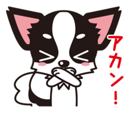 Cute Chihuahua Kansai Words Stickers sticker #4115466