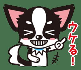 Cute Chihuahua Kansai Words Stickers sticker #4115468