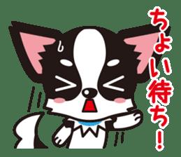 Cute Chihuahua Kansai Words Stickers sticker #4115470