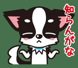 Cute Chihuahua Kansai Words Stickers sticker #4115473
