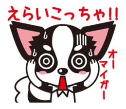 Cute Chihuahua Kansai Words Stickers sticker #4115474