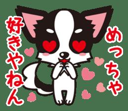 Cute Chihuahua Kansai Words Stickers sticker #4115478