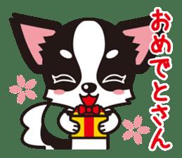 Cute Chihuahua Kansai Words Stickers sticker #4115480