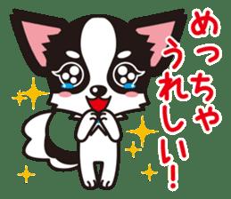 Cute Chihuahua Kansai Words Stickers sticker #4115481