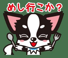 Cute Chihuahua Kansai Words Stickers sticker #4115482