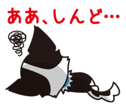Cute Chihuahua Kansai Words Stickers sticker #4115487