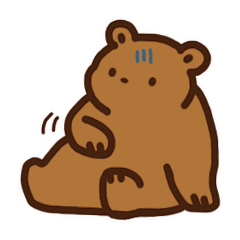 Bear upset