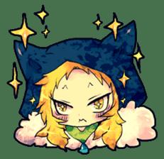Fairy-tale girls in fantasy world sticker #4120524