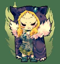 Fairy-tale girls in fantasy world sticker #4120525