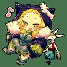 Fairy-tale girls in fantasy world sticker #4120526