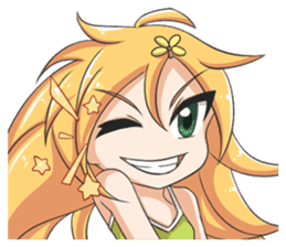 Lily & Marigold (Part Facial Expression) sticker #4127512