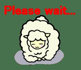 Fluffy... alpaca sticker #4128295