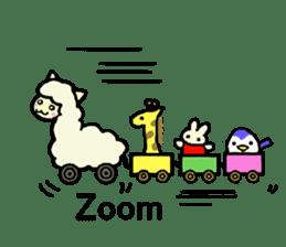 Fluffy... alpaca sticker #4128299