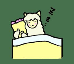 Fluffy... alpaca sticker #4128307