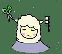 Fluffy... alpaca sticker #4128309