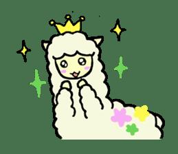 Fluffy... alpaca sticker #4128312