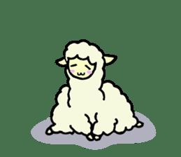 Fluffy... alpaca sticker #4128315