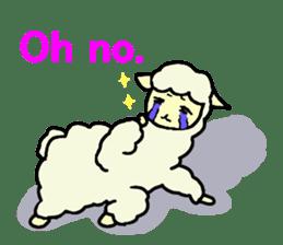 Fluffy... alpaca sticker #4128316
