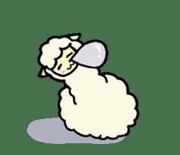 Fluffy... alpaca sticker #4128319