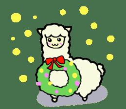 Fluffy... alpaca sticker #4128323