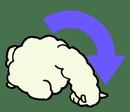 Fluffy... alpaca sticker #4128326