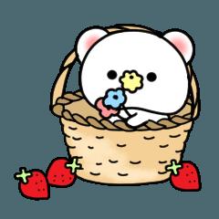 สติ๊กเกอร์ไลน์ Fukukuma 1(Fun everyday-use sticker)