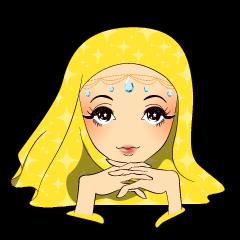 Hello Muslim hijab girl