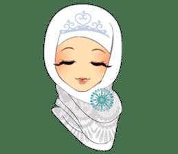 Hello Muslim hijab girl sticker #4132727
