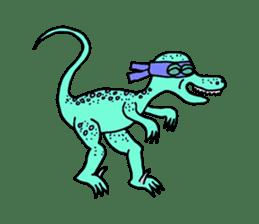 Ninja Dinosaur sticker #4133666