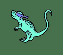 Ninja Dinosaur sticker #4133681