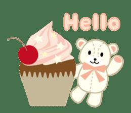 Everyday Teddy Bear(English) sticker #4136648
