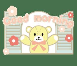 Everyday Teddy Bear(English) sticker #4136649